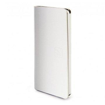 iPhone 6 / 6S Tucano Leggero Lompakkomallinen Nahkakotelo Valkoinen