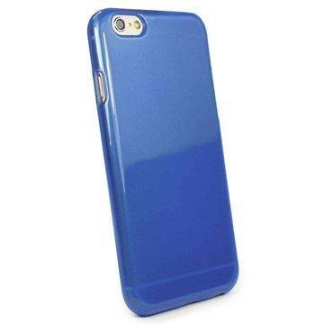 iPhone 6 / 6S Tuff-Luv Jelly Silikonikotelo -Sininen