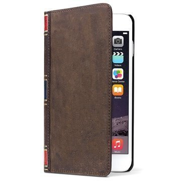 iPhone 6 / 6S Twelve South BookBook Nahkainen Lompakkokotelo Ruskea