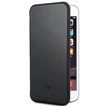 iPhone 6 / 6S Twelve South SurfacePad Nahkakotelo Musta