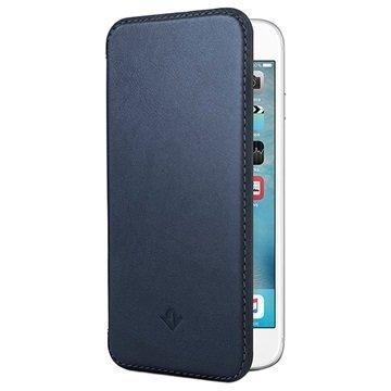 iPhone 6 / 6S Twelve South SurfacePad Nahkakotelo Yönsininen