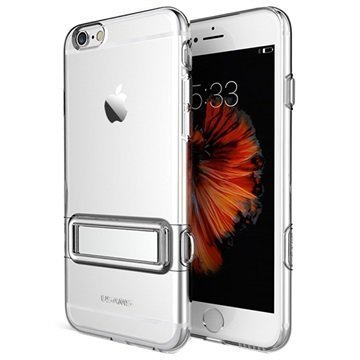 iPhone 6 / 6S Usams Bright Series TPU-Kotelo Läpinäkyvä