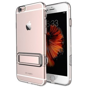 iPhone 6 / 6S Usams Bright Series TPU-Kotelo Ruusukulta