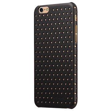 iPhone 6 / 6S Usams Twinkle Series Kova Suojakuori Musta