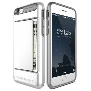 iPhone 6 / 6S VRS Design Damda Clip Series Kotelo Valkoinen