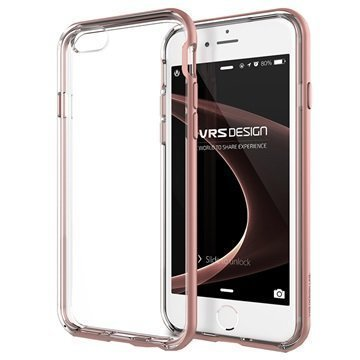 iPhone 6 / 6S VRS Design New Crystal Bumper Series Kotelo Ruusukulta
