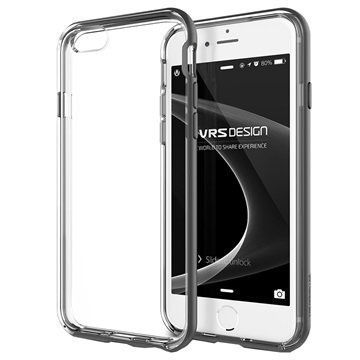 iPhone 6 / 6S VRS Design New Crystal Bumper Series Kotelo Teräksenhopea