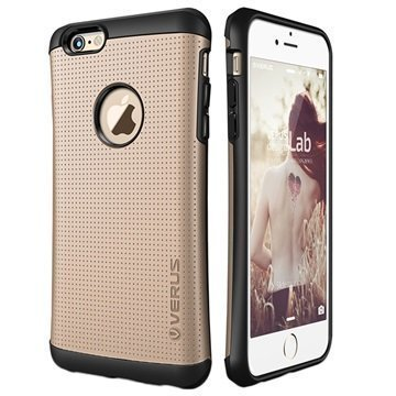 iPhone 6 / 6S VRS Design Thor Hard Drop Series Kotelo Hohtava Kulta