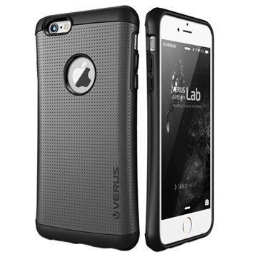iPhone 6 / 6S VRS Design Thor Hard Drop Series kotelo Hiilenmusta
