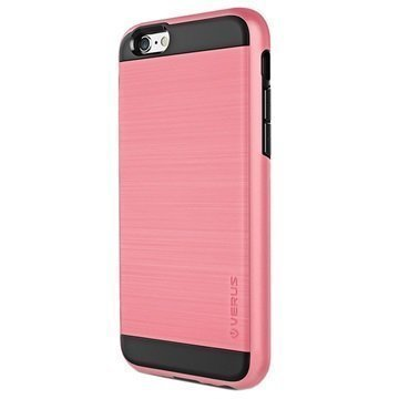 iPhone 6 / 6S VRS Design Verge Series Kotelo Rose Pinkki