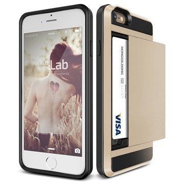 iPhone 6 / 6S Verus Damda Slide Kotelo Hohtava Kulta