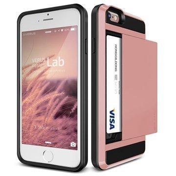 iPhone 6 / 6S Verus Damda Slide Kotelo Ruusukulta
