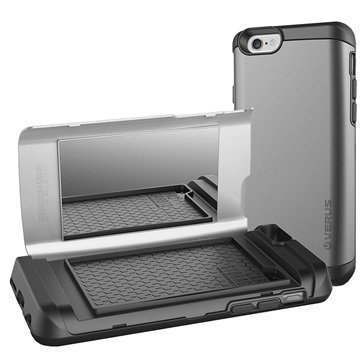 iPhone 6 / 6S Verus Damda Veil Case Steel Silver