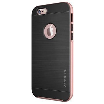 iPhone 6 / 6S Verus High Pro Shield Series Kotelo Ruusukulta