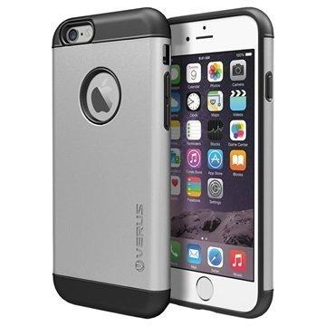 iPhone 6 / 6S Verus Pound Kotelo Vaalea Hopea
