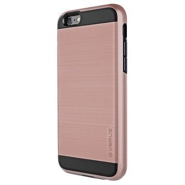 iPhone 6 / 6S Verus Verge Series Kotelo Ruusukulta
