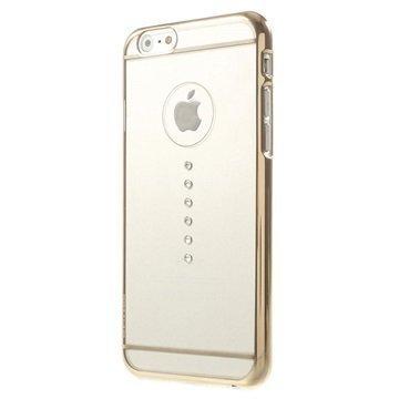 iPhone 6 / 6S X-Fitted Swarovski Crystal Suojakotelo Horizon Kultainen