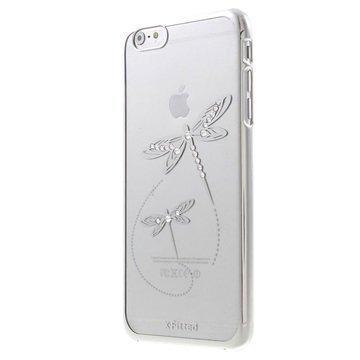 iPhone 6 / 6S X-Fitted Swarovski Crystal Suojakotelo Sudenkorento Hopeinen