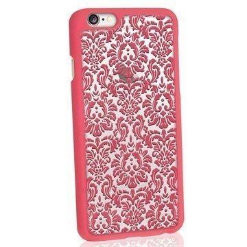 iPhone 6 / 6S iGadgitz 3D Designer Collection Vintage Kuvioitu Kova Kotelo Pinkki