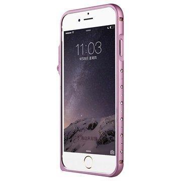iPhone 6 Baseus Eternal Series Alumiininen Suojapuskuri Pinkki