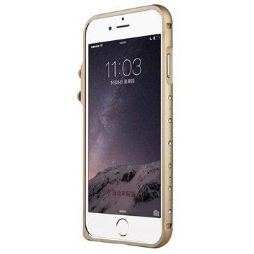 iPhone 6 Baseus Eternal Series Alumiininen Suojapuskuri Samppanja Kulta