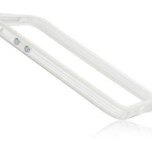 iPhone 6 Bumper suoja valkoinen / läpinäkyvä
