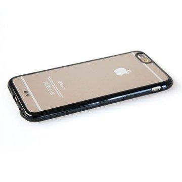 iPhone 6 Cool Bananas beSlim Takakansi Läpinäkyvä / Musta