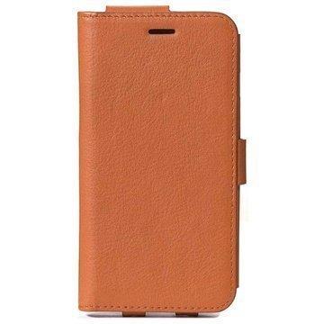 iPhone 6 Decoded Wallet Nahkakotelo Ruskea