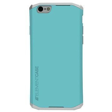 iPhone 6 Element Case Solace Suojakuori Turkoosi / Hopea