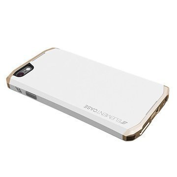 iPhone 6 Element Case Solace Suojakuori Valkoinen / Kultainen