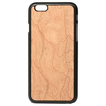 iPhone 6 Lazerwood Snap Kotelo Topografinen Kirsikka