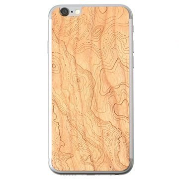iPhone 6 Lazerwood Suojakalvo Topo Kirsikka