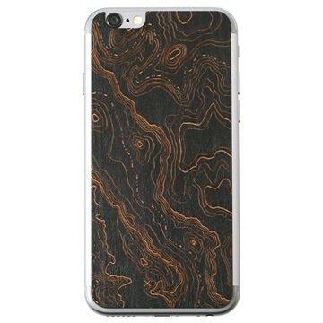 iPhone 6 Lazerwood Suojakalvo Topo Musta