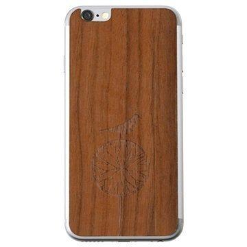 iPhone 6 Lazerwood Suojakalvo Treebird Saksanpähkinä