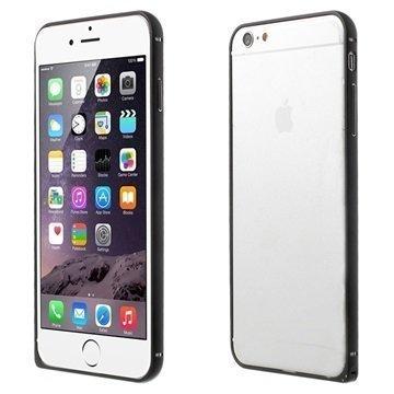 iPhone 6 Love Mei Alumiinipuskuri Musta
