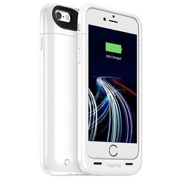 iPhone 6 Mophie Juice Pack Ultra akkukotelo Valkoinen