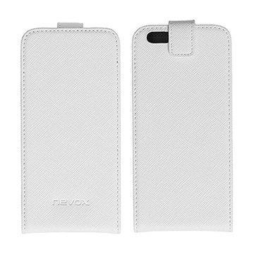 iPhone 6 Nevox Relino Läppäkotelo Valkoinen / Harmaa