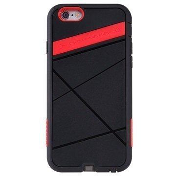 iPhone 6 Nillkin Super Power Langaton TPU Latauskuori Musta / Punainen