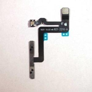 iPhone 6 Plus Äänenvoimakkuuden ja hiljennysnapin flex-kaapeli