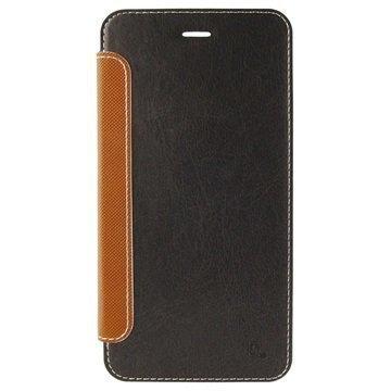 iPhone 6 Plus / 6S Plus 4smarts Kirjamallinen Läppäkotelo Musta