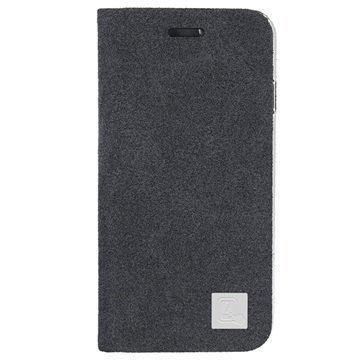 iPhone 6 Plus / 6S Plus 4smarts Sentosa Pystymallinen Läppäkotelo Tummanharmaa