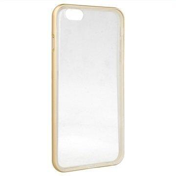 iPhone 6 Plus / 6S Plus 4smarts Uptown Clip Suojakuori Kulta