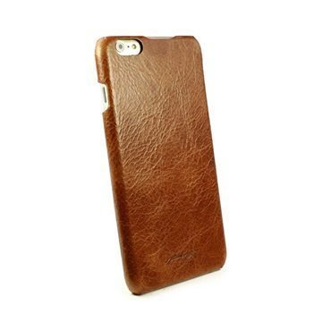 iPhone 6 Plus / 6S Plus Alston Craig Slim-Shell Vintage Nahkakotelo Ruskea