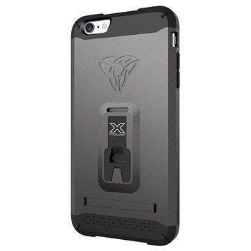 iPhone 6 Plus / 6S Plus Armor-X CX-Mi6P Rugged X-Mount Suojakuori Asemetalli Harmaa