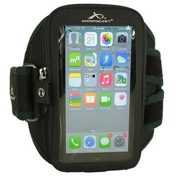 iPhone 6 Plus / 6S Plus Armpocket i-40 Käsivarsikotelo L Musta