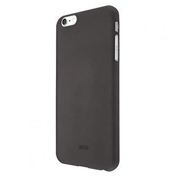 iPhone 6 Plus / 6S Plus Artwizz Rubber Clip Kotelo Musta