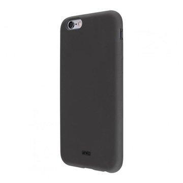 iPhone 6 Plus / 6S Plus Artwizz SeeJacket Silikonikotelo Musta