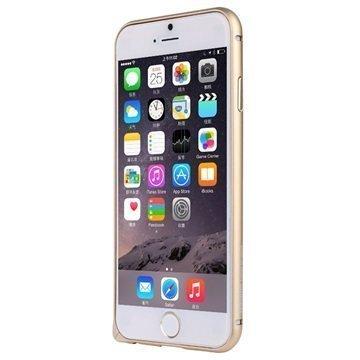 iPhone 6 Plus / 6S Plus Baseus Beauty Arc Series Alumiininen Suojapuskuri Kultainen