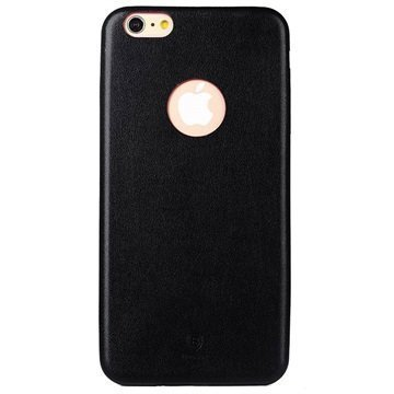 iPhone 6 Plus / 6S Plus Baseus Thin Case Sarjan Kova Kotelo Musta