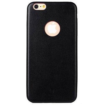 iPhone 6 Plus / 6S Plus Baseus Thin Case Sarjan Kova Kotelo Musta